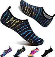 NAOR Water Shoes for Men Women Kids Outdoor Beach Shoes Swimming Aqua Socks Quick-Dry Barefoot Shoes For Surfing Yoga Pool E