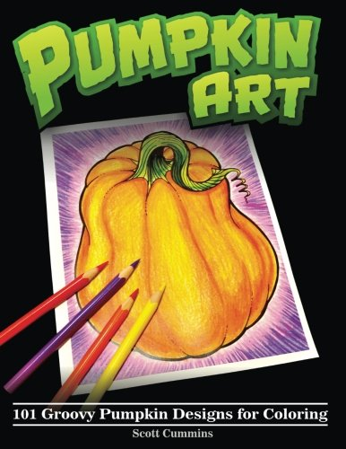ovy Pumpkin Designs for Coloring (Outside-the-Lines Coloring Designs) ()