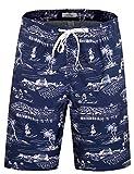 Beach Wear Herren Badehose Freizeit Short Schnelltrocknend Badeshorts EHS001-2XL