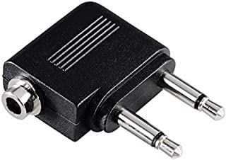 Hama Flugzeugadapter Kopfhörer Sound, Air-Adapter (2 Monostecker mit 3,5 mm Klinke, Stereokupplung mit 3,5 mm Klinke) (B00006IVTF) | Amazon price tracker / tracking, Amazon price history charts, Amazon price watches, Amazon price drop alerts