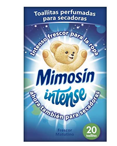 Mimosín Toallitas Perfumadoras para Secadoras - 9 Paquetes de 20 unidades