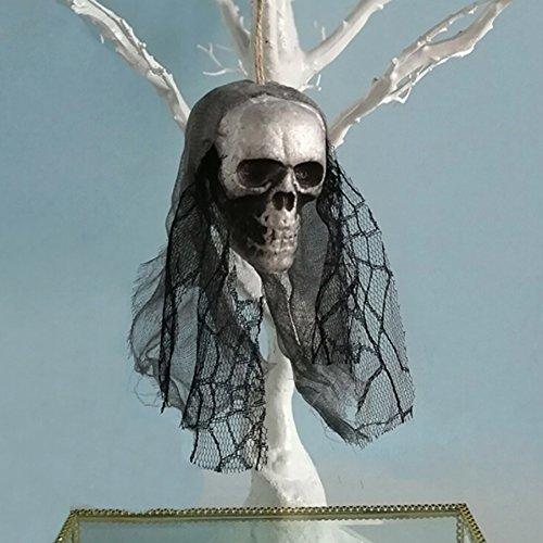 Fushkong Halloween Requisiten Bar KTV Party Dekoration Blase Schädel Anhänger