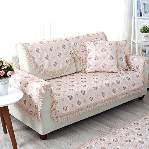 asciugamano divano da giardino/ divano/Anti-slip pizzo divano cuscino-B 40x40cm(16x16inch)
