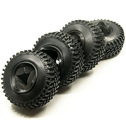4-stuck-19inch-100mm-rc-reifen-gummi-pneu-tires-tyre-fur-1-10-crawler-rc4wd-scx10-cc01