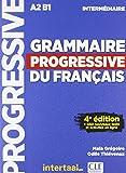Grammaire progressive du français Niveau intermédiaire (1CD audio) - Clé International - 01/02/2018