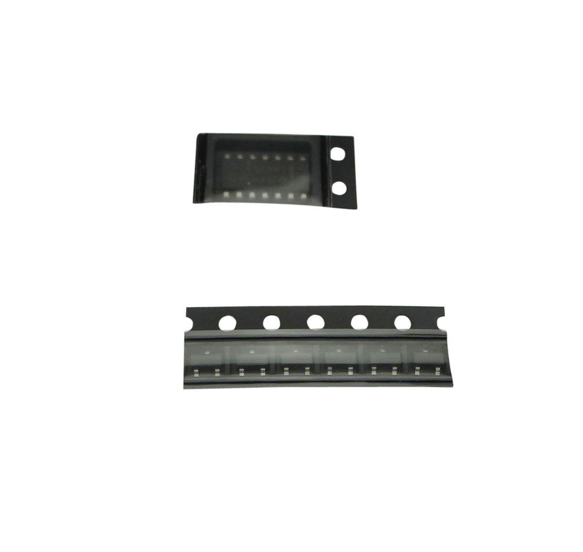 Aihasd 2 X SMT SMD Componente Tablero de la práctica de Soldadura Kit