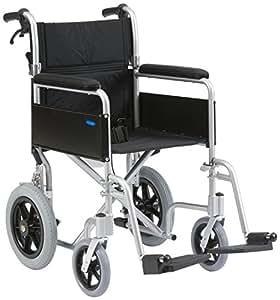 Aluminium Leichtbau Falten Transit Rollstuhl mit Bremsen