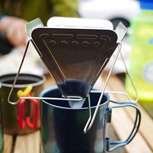 Homyl Kaffeefilterhalter, Edelstahl