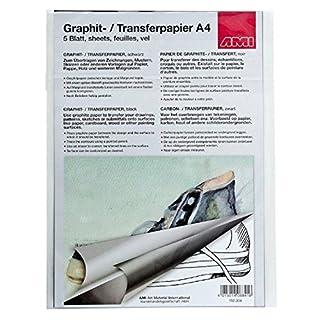 AMI Graphitpapier, A4, 5 Blatt