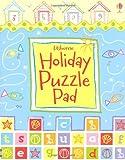 Holiday Puzzle Pad (Usborne Activity Pads)