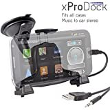iBolt xProDock Kit Including Holder Cradle and Charging Cable for Samsung  Galaxy S2/ S3/ S4 and Note 2 - Black