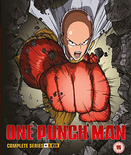 One Punch Man Collection 1 (Episodes 1-12 + 6 OVA) Collector s Edition [Blu-ray] [UK Import] Audio-punch