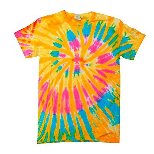 ik T-Shirt 'Swirl'/Aurora, XXL (Hippie Kostüm Für Herren)