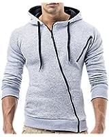 BALANDI Herren Sweatjacke Jacke Hoodie Hoody Pullover T-Shirt Kapuzenpullover