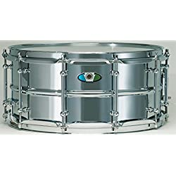 """Ludwig LW5514SL 5.5"""" x 14"""" Supralite Steel Shell Snare Drum"""