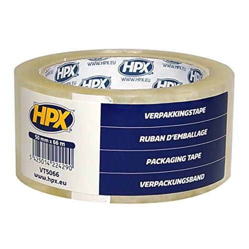Preisvergleich Produktbild HPX VT5066 Verpackungsband, 50 mm x 66 m, Transparent