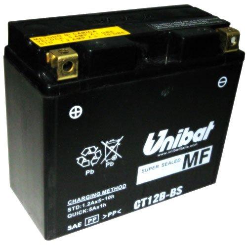 Unibat-Batteria Moto 12V-ct12b-bs (yt12b-bs)