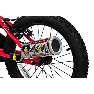 51SiVfHTW9L. SS300 Turbospoke- Bicycle Exhaust System Sistema di Scarico per Biciclette, TS004