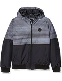 Rip Curl Mountain Jacket - Chaqueta para niño, color gris, talla 14