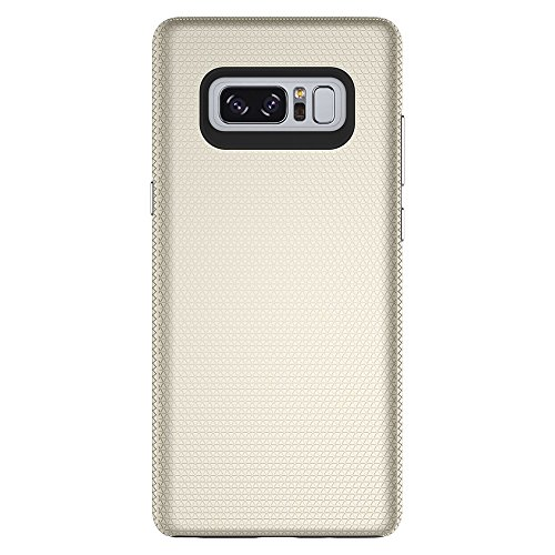 Dual Layer Double Protection PC + TPU Drop Resistant Shockproof Hybrid Armor Shell Cover Case für Samsung Galaxy Hinweis 8 ( Color : Rose ) Gold