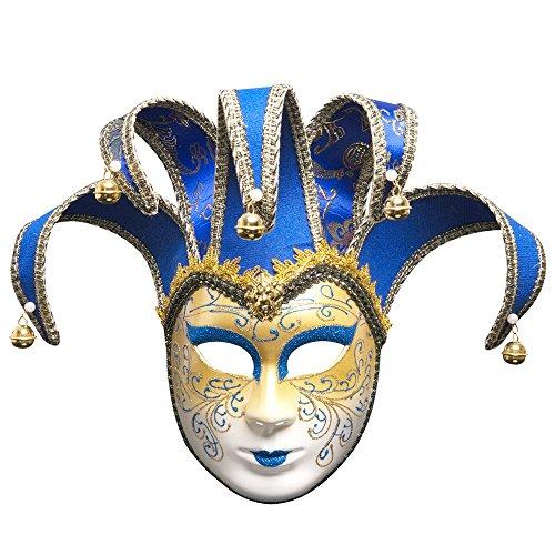 Peng sounded Gemalte Halloween Ball Party Italienische Maske Gehobenen Venedig Lady führt weiße Maske.