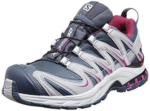 SalomonXA PRO 3D GTX - Zapatillas de Running para Asfalto Mujer , color Gris, talla 42 2/3