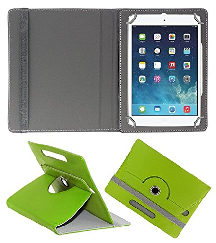 ECellStreet 360° Degree Rotating 7 Inch Flip Cover Diary Folio Case With Stand For Bsnl Penta WS707C EDGE CALLING TABLET  - Green  available at amazon for Rs.249