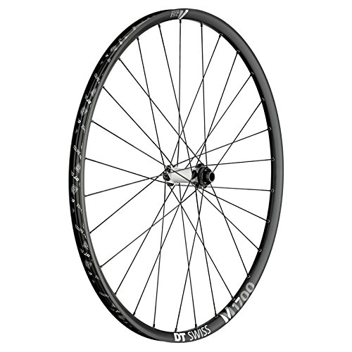 DT Swiss W0M1700BEIXSA05117 VR DT Swiss M 1700 Spline 29'/25mm Alu, sw, Center Lock, 110/15mm TA Boost (1 Stück) -