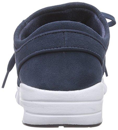Nike Stefan Janoski Max L, Baskets Basses mixte adulte Bleu - (402 Squadron Blue/Black-White)