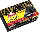 Calzanetto, Spugna, Plus, con olii raffinati di silicone e lanolina, idratata, ammorbidisce, protegge,ha potere idrorepellente, colore Nero