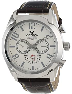 Viceroy HerrenArmbanduhr Analog Quarz Leder 40347-05