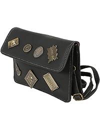 Tamirha Charming Black Unique Style Sling Bag
