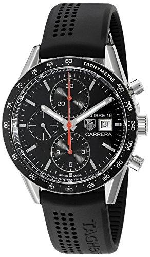 Tag Heuer uomo CV201AK.FT6040analogico display svizzero orologio automatico nero