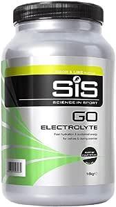 Science in Sport SiS GO Electrolyte Polvere, Sport Drink con Sali Elettroliti e Carboidrati, Gusto Limone e Lime 1.6 kg