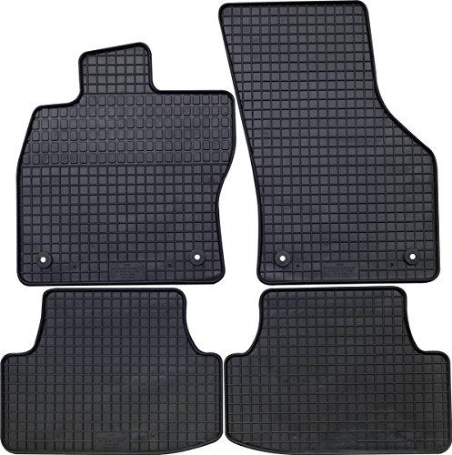 Torrex® 4er Set passform Gummifußmatten sehr robust in perfekter Passform 10001700