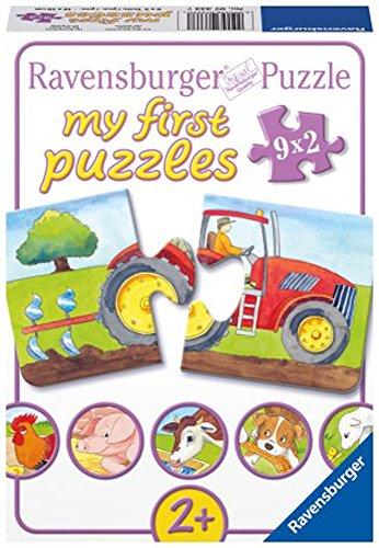 Ravensburger 07333 - Auf dem Bauernhof, my first puzzles 9x2