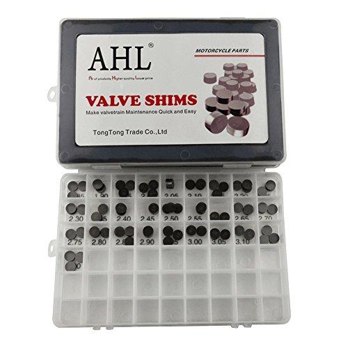 AHL VSK10311 Ventil Shim Set Einstellplättchen Ventilspiel Kit(10mm 3*28pcs)