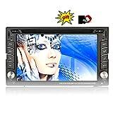 Eincar XM-2DTSBN6216 GPS Autoradio / in Dash-Radio Stereo / Head Unit Auto-Player mit 8 GB GPS-Navigation + NAVI-Software inkl. Europa-Karten (38 L?nder) + Autoradio Bluetooth Freisprecheinrichtung
