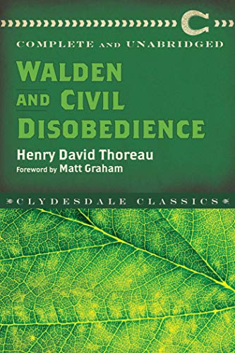Walden and Civil Disobedience (Clydesdale Classics) (English Edition) -