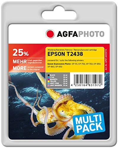 Preisvergleich Produktbild AgfaPhoto APET243SETD Remanufactured Tintenpatronen Pack of 1