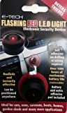 E-Tech Flashing Red LED - Dummy Alarm To Deter Thieves - Use In Car Van Boat Etc