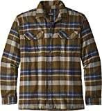 Patagonia Fjord Flannel - Camiseta de Manga Larga Hombre - marrón Talla L 2018