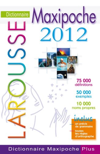 Dictionnaire Maxipoche plus 2012