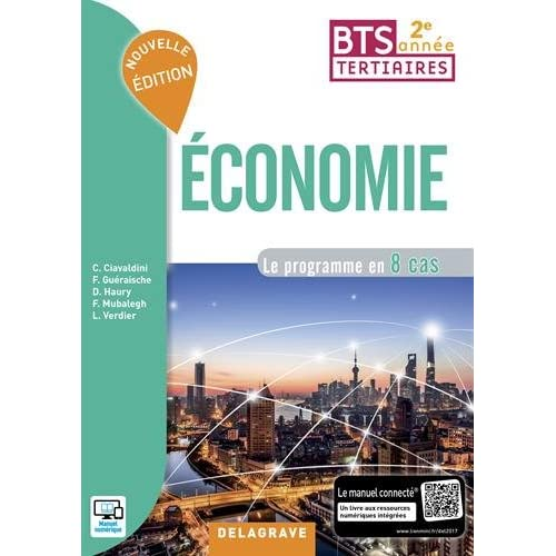 Economie BTS tertiaires 2e année : Le programme en 8 cas
