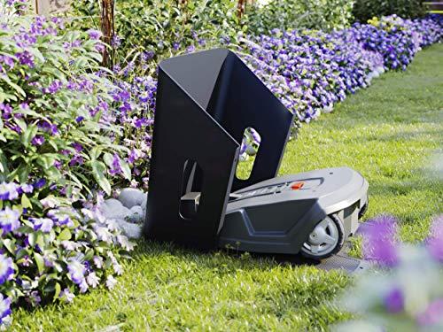 Mowhouse Mähroboter & Rasenroboter Garage – Carport für Rasenmäher Roboter – Made in Germany (Noble-Anthrazit) - 3