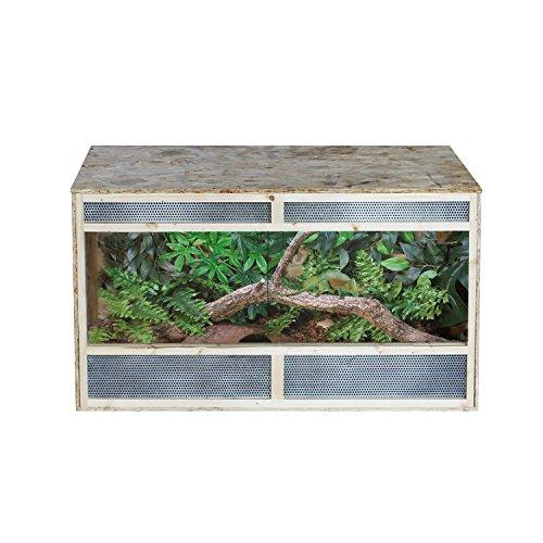 Pawhut Reptile Pet Vivarium Home House Terrarium Habitat Leopard Geckos Lizard Wooden...