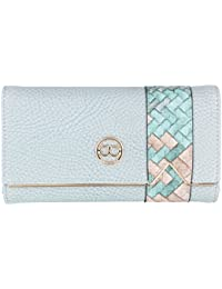 Gio Collection Women's Sky Blue Wallet