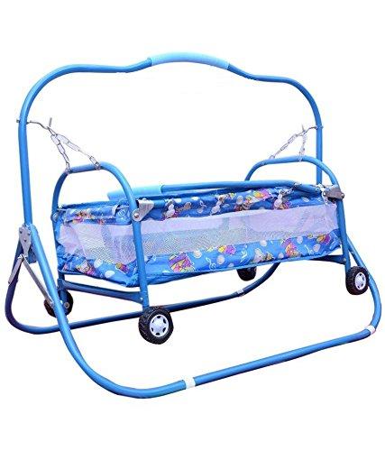 Taaza Garam Newborn Baby Cradle , Cot , Crib , Bassinet , Stroller And Swing baby birthday Gift(Unisex)