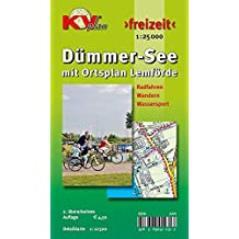 Dümmer See mit Ortsplan Lemförde: Amts- und Freitzeitkarte inkl. Rad- und Wanderwegen 1:12.500 (KVplan Mittelweser-Region / http://www.kv-plan.de/Mittelweser.html)