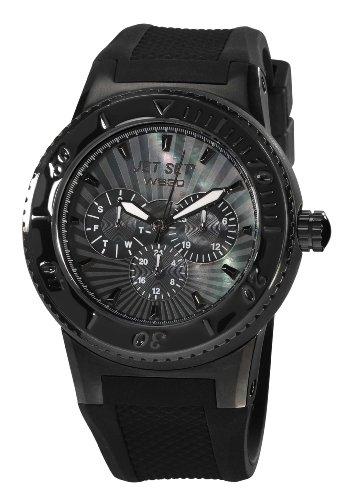 Jet Set Unisex Analog Quarz Uhr mit Leder Armband J6444B-237